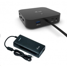 iTec USB-C Dual Display Docking Station s Power Delivery 100W + Universal Charger 112W - NÁHRADNÍ OBAL