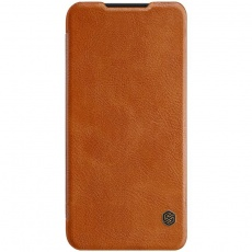 Nillkin Qin Leather Case pro Xiaomi Redmi 7 Brown