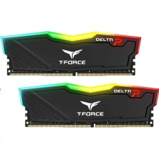 DIMM DDR4 16GB 2666MHz, CL15, (KIT 2x8GB), T-FORCE DELTA RGB (Black)
