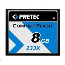 PRETEC CompactFlash Cheetah 233X card 8GB