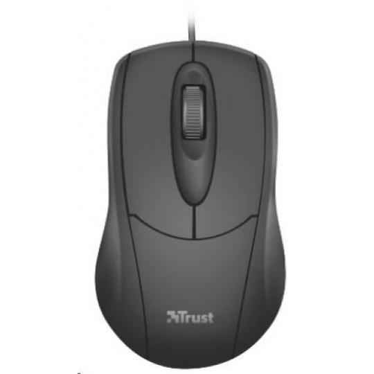 TRUST Myš Ziva WIRED MOUSE full size