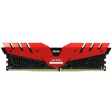 DIMM DDR4 16GB 3000MHz, CL16, (KIT 2x8GB), T-FORCE Dark ROG, Red